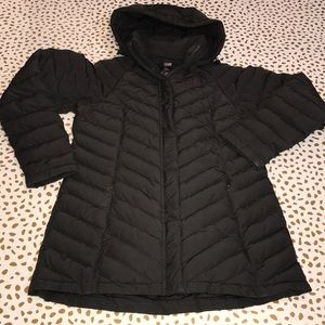 The North Face Black Lamoille Mid Length Coat